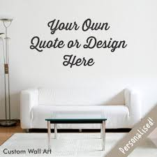 Small Picture Personalised Vinyl Wall Sticker Wallthings
