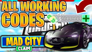 I will show you all in this video. Roblox Mad City Codes March 2021
