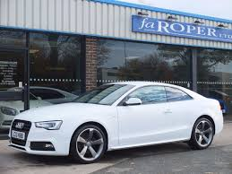 Second Hand Audi A5 Coupe 2.0 TDI 177 Black Edition Multitronic ...