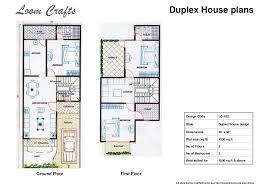 house plan house plan drawing 20 x 50