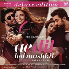 ae dil hai mushkil deluxe edition songs