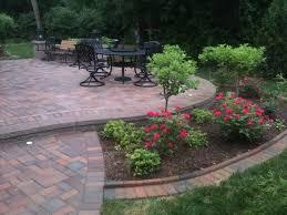 landscaping idea around patio backyard ideas slightly raised raised patio landscaping23 patio