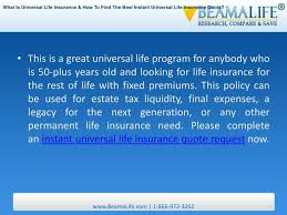 instant universal life insurance quotes raipurnews