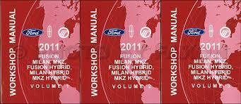 2011 ford fusion mercury milan lincoln mkz wiring diagram manual 2011 ford fusion mercury milan lincoln mkz repair shop manual original 3 volume set 169 00