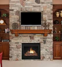 lake zurich was ledge pictures of stone fireplaces with tv above stone fireplace with tv located