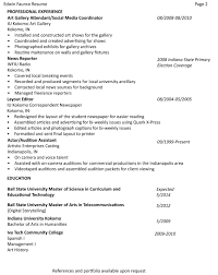 Resume Vs Vita Resume For Study