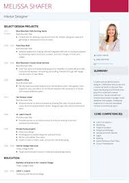 Interior Designer Sample Resume Resume Objective Examples Interior Designer Sample Fresher Format 12