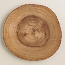 charger plates decorative: wooden bark charger  xxx vtifwidcvtjpegchargers woodenbarkcharger wooden bark charger