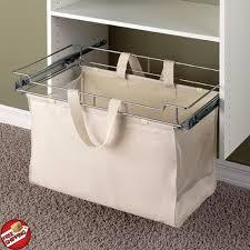 Hamper Closet System Steel Laundry Storage Organizer Sorter Basket ...
