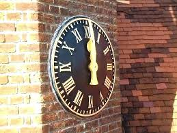 large outdoor wall clock outdoor pool clocks large extra large outdoor wall clocks enchanting extra large
