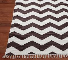 pottery barn kids chevron rug