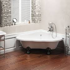 small corner bathtub small corner tub shower combo corner black clawfoot tub with wall mounted polished
