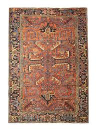 antique persian rugs orange rug from heriz carpet