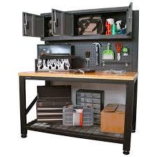 metal workbench. industrial steel workbench with cabinet storage metal i