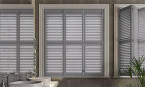 wooden shutter blinds.  Blinds San Jose Premium French Grey Thumbnail Image On Wooden Shutter Blinds