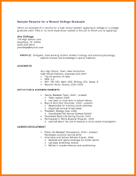 11 High School Resume Template No Work Experience Pear Tree Digital