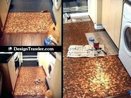 Penny kitchen floor Glass Penny Tile Kitchen Floor Made Out Of Pennies Penny Kitchen Floor With Penny Kitchen Floor Medium Size Of Tile Floors Aesthetic Kitchen Floor Made Kitchen Floor Tiled Artoflivinggreenco Kitchen Floor Made Out Of Pennies Penny Kitchen Floor With Penny