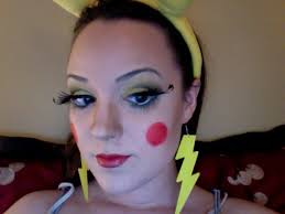 pikachu makeup for trial run trials make up and costumes