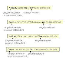 Pronoun Antecedent Agreement Pronoun Antecedent Agreements