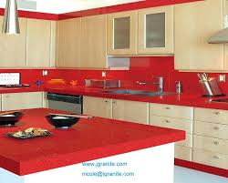 red kitchen countertops extraordinary red kitchen innovative red kitchen red granite kitchen worktops red kitchen countertops