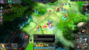 my first game of dawngate new moba with wowcrendor youtube
