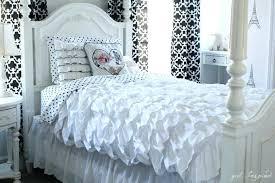 ruffle duvet cover ruffled duvet cover sewing tutorial so pretty white ruffle duvet cover uk