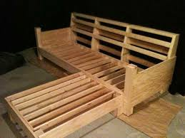 how to build a wooden couch home pictures
