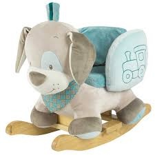 nattou baby  toddler  infant rocking horse  play rocker