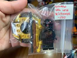 Lego Ninjago NRG Cole with spinner minifigure , Toys & Games, Toys on  Carousell