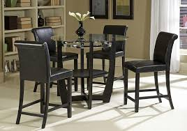 glass pub table set sierra glass top pub table set glass pub table within glass bar table and chairs ideas
