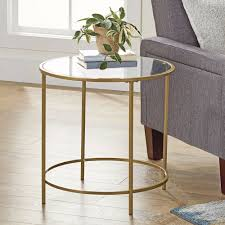 details about better homes and gardens nola side table multiple finish gold