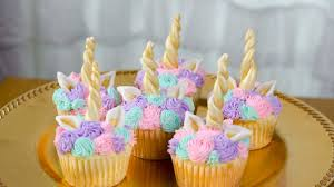 How To Make Unicorn Cupcakes Youtube