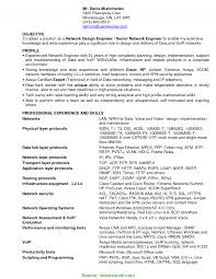 Networking Resume Excellent Network Manager Resume Objective Classy Networking 11