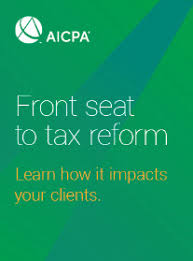 Aicpa Due Date Chart 2018 Tax Reform Resource Center