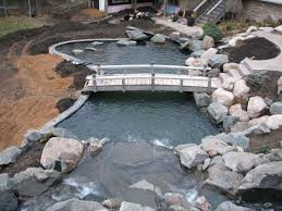 Small Picture Best 10 Pond construction ideas on Pinterest Koi ponds Used