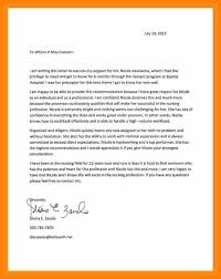 letter of recommendation template for nursing student reference letter for student example letter recommendation nursing