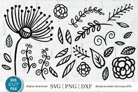You can download this svg images for free. Floral Svg Flourish Svg Dandelion Svg Flower Svg Bundle 289619 Cut Files Design Bundles