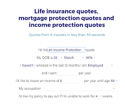 Who Has The Best Income Protection Calculator In Ireland Lionie Beauteous Term Life Insurance Quote Calculator