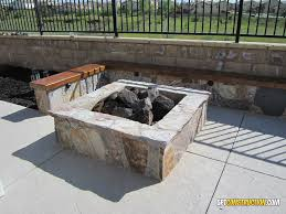 fire pit rocklin california this 4 square x 18 tall rocklin fire pit features a complete stone veneer with gas valve and 30 dual burner fire ring with