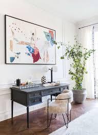 chic office design. Chic Office Design For A Sothebys Parisian Apartment | Emily Henderson Desk: Custom Painted D
