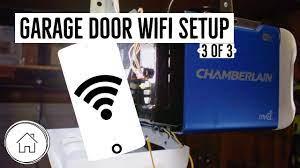 to connect garage door opener to phone