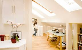 loft room furniture. Light Filled Loft Conversion Landing With Office And Rooms Room Furniture