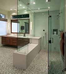 Handicap Bathroom Layout Design Ada Bathroom Layout For A Contemporary Bathroom With A High