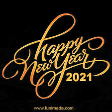May happiness fill your heart. Happy New Year 2021 Gif Images Download On Funimada Com