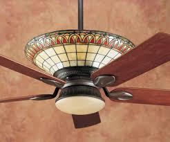 stained glass apple ceiling fan