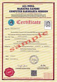 Computer Certificate Format Awesome Computer Basic Course Certificate Sample New Iittsd Modular
