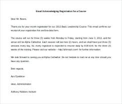 12 Examples Of Acknowledgement Letters Notice Paper