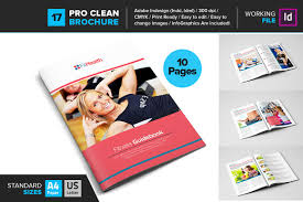 Gym Brochure Templates Fitness GYM Brochure Template 24 Brochure Templates Creative Market 5