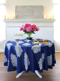 90 inch round tablecloth navy blue round tablecloth white paisley round tablecloth inch round modern tablecloth