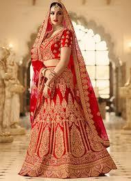 Latest Indian Wedding Lehenga Designs Red Phantom Silk Indian Latest Bridal Lehenga Design With Mono Net Dupatta